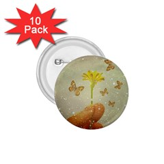 Butterflies Charmer 1 75  Button (10 Pack)