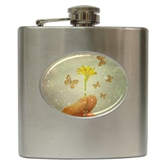 Butterflies Charmer Hip Flask by dflcprints