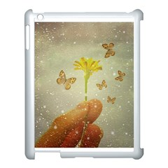 Butterflies Charmer Apple Ipad 3/4 Case (white) by dflcprints