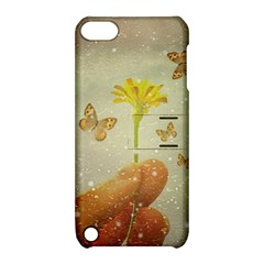 Butterflies Charmer Apple Ipod Touch 5 Hardshell Case With Stand by dflcprints
