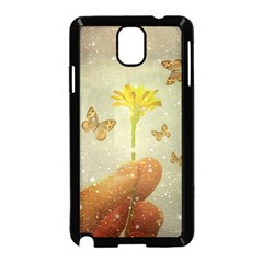 Butterflies Charmer Samsung Galaxy Note 3 Neo Hardshell Case (black) by dflcprints