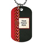 Celebrate America 2 side dog tag 2 - Dog Tag (Two Sides)