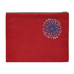 Celebrate America Xl Cosmetic Bag By Lisa Minor   Cosmetic Bag (xl)   Umcoaket8cgr   Www Artscow Com Back