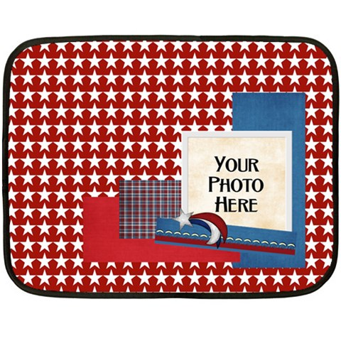 Celebrate America Blanket Sm By Lisa Minor   Fleece Blanket (mini)   41wqttsd25dt   Www Artscow Com 35 x27 Blanket