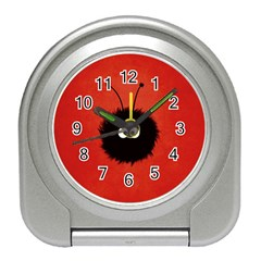 Red Cute Dazzled Bug Desk Alarm Clock by CreaturesStore