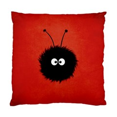 Red Cute Dazzled Bug Cushion Case (two Sided)  by CreaturesStore