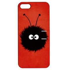 Red Cute Dazzled Bug Apple Iphone 5 Hardshell Case With Stand by CreaturesStore