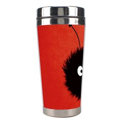 Red Cute Dazzled Bug Stainless Steel Travel Tumbler by CreaturesStore