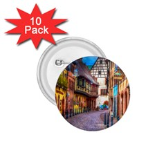 Alsace France 1.75  Button (10 pack) by StuffOrSomething