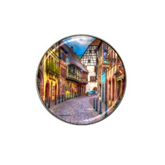 Alsace France Golf Ball Marker (for Hat Clip) by StuffOrSomething