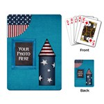 Celebrate America Playing Cards 1 - Playing Cards Single Design