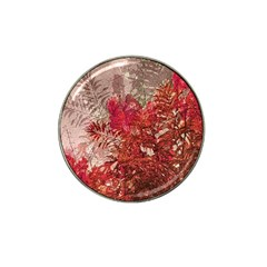 Decorative Flowers Collage Golf Ball Marker 10 Pack (for Hat Clip) by dflcprints