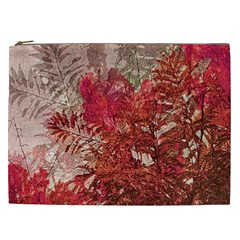 Decorative Flowers Collage Cosmetic Bag (xxl) by dflcprints