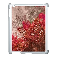 Decorative Flowers Collage Apple Ipad 3/4 Case (white) by dflcprints
