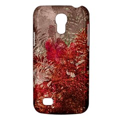 Decorative Flowers Collage Samsung Galaxy S4 Mini (gt I9190) Hardshell Case  by dflcprints