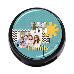 Family By Family   4 Port Usb Hub (two Sides)   Czvlad90gwov   Www Artscow Com Back