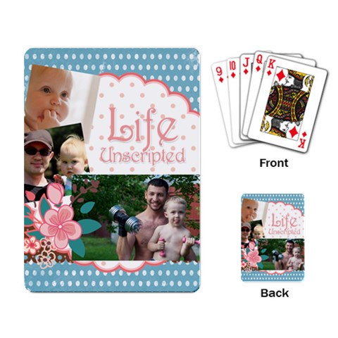 Family By Family   Playing Cards Single Design   B6ql62ws2weu   Www Artscow Com Back
