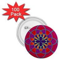 Mandala 1.75  Button (100 pack) by SaraThePixelPixie