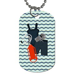 Lifeguard Dog Tag 2 Sided 2 By Lisa Minor   Dog Tag (two Sides)   Fdzmbs1ibq8n   Www Artscow Com Back