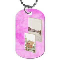Artist 2 Sided Dog Tag 2 By Lisa Minor   Dog Tag (two Sides)   B0sg76j5stoq   Www Artscow Com Back