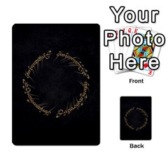 Resistance Lotr By Thebishop777   Multi Purpose Cards (rectangle)   Wf5k50gmgoun   Www Artscow Com Back 1