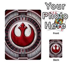 Resistance Lotr By Thebishop777   Multi Purpose Cards (rectangle)   Wf5k50gmgoun   Www Artscow Com Back 52