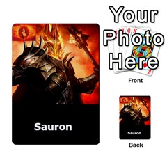 Resistance Lotr By Thebishop777   Multi Purpose Cards (rectangle)   Wf5k50gmgoun   Www Artscow Com Front 9