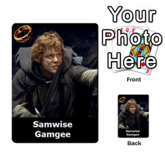 Resistance Lotr By Thebishop777   Multi Purpose Cards (rectangle)   Wf5k50gmgoun   Www Artscow Com Front 2