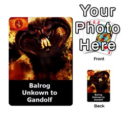 Resistance Lotr By Thebishop777   Multi Purpose Cards (rectangle)   Wf5k50gmgoun   Www Artscow Com Front 13