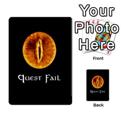Resistance Lotr By Thebishop777   Multi Purpose Cards (rectangle)   Wf5k50gmgoun   Www Artscow Com Front 20