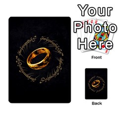 Resistance Lotr By Thebishop777   Multi Purpose Cards (rectangle)   Wf5k50gmgoun   Www Artscow Com Back 20