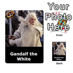 Resistance Lotr By Thebishop777   Multi Purpose Cards (rectangle)   Wf5k50gmgoun   Www Artscow Com Front 3