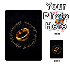 Resistance Lotr By Thebishop777   Multi Purpose Cards (rectangle)   Wf5k50gmgoun   Www Artscow Com Back 21