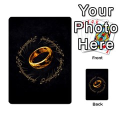 Resistance Lotr By Thebishop777   Multi Purpose Cards (rectangle)   Wf5k50gmgoun   Www Artscow Com Back 23