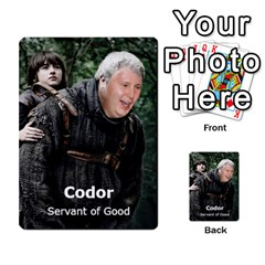 Resistance Lotr By Thebishop777   Multi Purpose Cards (rectangle)   Wf5k50gmgoun   Www Artscow Com Front 32