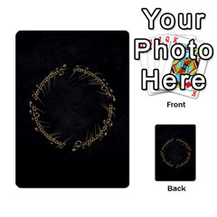 Resistance Lotr By Thebishop777   Multi Purpose Cards (rectangle)   Wf5k50gmgoun   Www Artscow Com Back 4