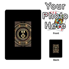 Resistance Lotr By Thebishop777   Multi Purpose Cards (rectangle)   Wf5k50gmgoun   Www Artscow Com Back 50