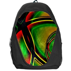Multicolored Modern Abstract Design Backpack Bag by dflcprints