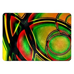 Multicolored Modern Abstract Design Samsung Galaxy Tab 8 9  P7300 Flip Case by dflcprints
