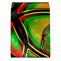 Multicolored Modern Abstract Design Removable Flap Cover (small) by dflcprints