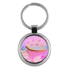Cupcakes Covered In Sparkly Sugar Key Chain (Round) by StuffOrSomething