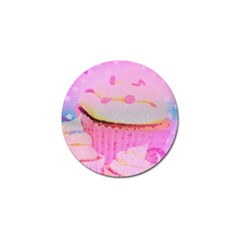 Cupcakes Covered In Sparkly Sugar Golf Ball Marker by StuffOrSomething