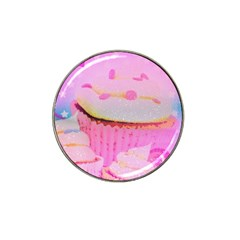 Cupcakes Covered In Sparkly Sugar Golf Ball Marker (for Hat Clip) by StuffOrSomething
