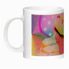 Cupcakes Covered In Sparkly Sugar Glow In The Dark Mug by StuffOrSomething