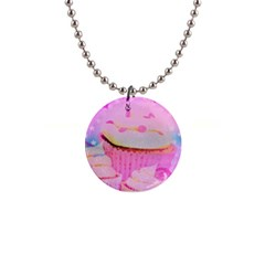 Cupcakes Covered In Sparkly Sugar Button Necklace by StuffOrSomething