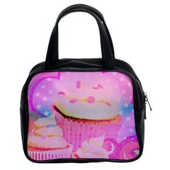 Cupcakes Covered In Sparkly Sugar Classic Handbag (two Sides) by StuffOrSomething