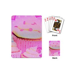 Cupcakes Covered In Sparkly Sugar Playing Cards (mini) by StuffOrSomething