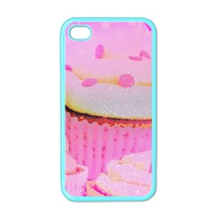 Cupcakes Covered In Sparkly Sugar Apple Iphone 4 Case (color) by StuffOrSomething