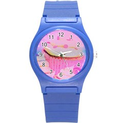 Cupcakes Covered In Sparkly Sugar Plastic Sport Watch (small) by StuffOrSomething