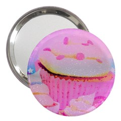 Cupcakes Covered In Sparkly Sugar 3  Handbag Mirror by StuffOrSomething